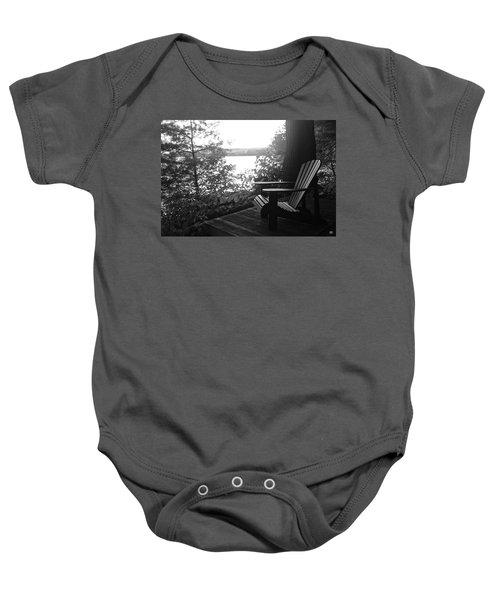 Adirondack In Maine Baby Onesie