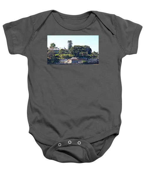 Baby Onesie featuring the photograph Admiralty House by Stephen Mitchell
