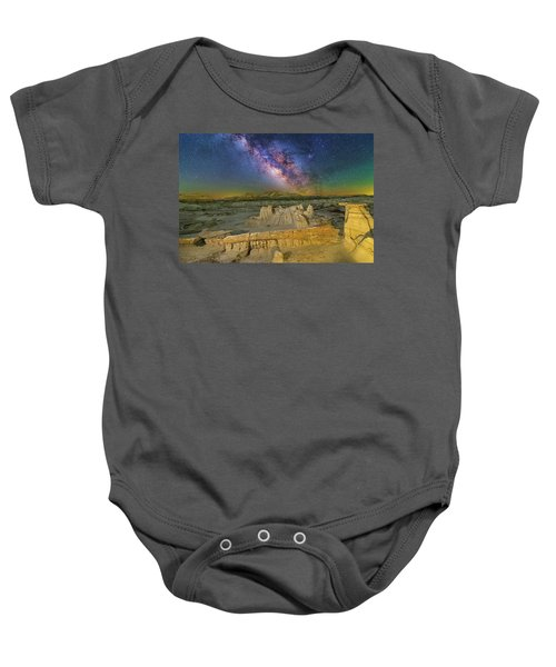 Aeons Of Time Baby Onesie