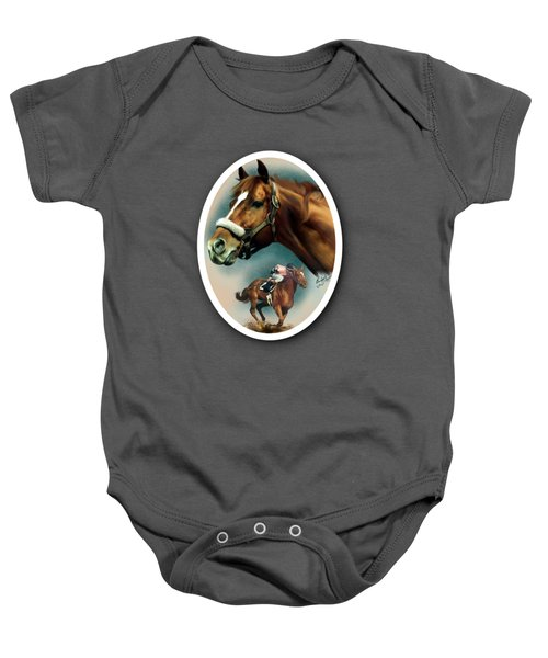 Affirmed With Name Decor Baby Onesie