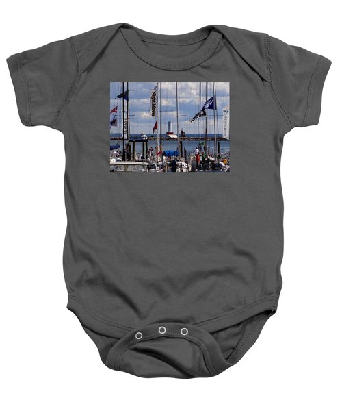 After The Race Baby Onesie