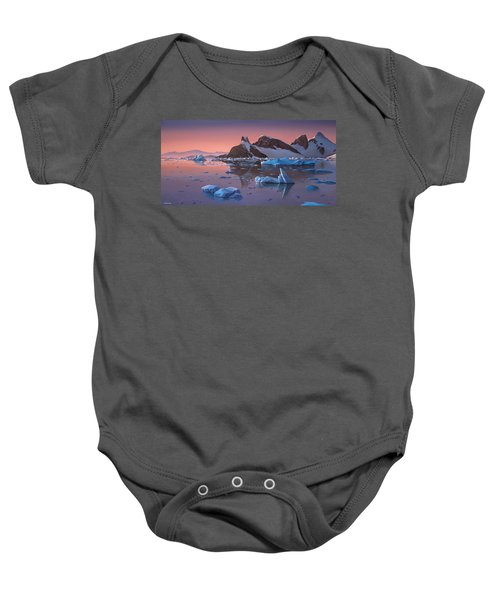 Afterglow Lemarie Channel Antarctica Baby Onesie