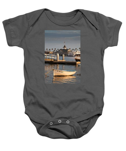 Afternoon Light Balboa Island Baby Onesie
