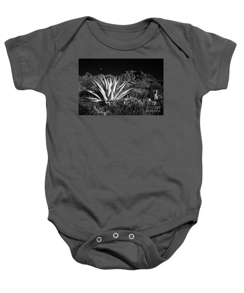 Agave And Moonrise Baby Onesie