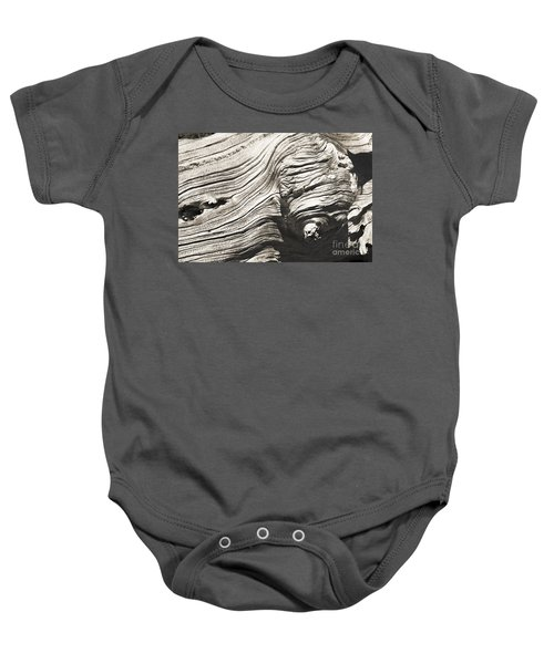 Aging Of Time Baby Onesie
