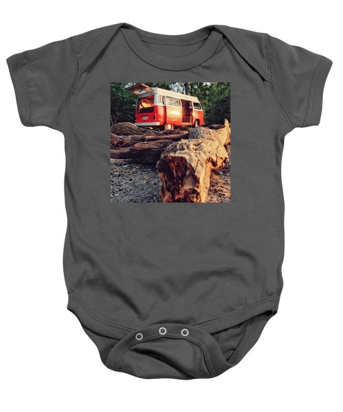 Alani By The River Baby Onesie by Andrew Weills