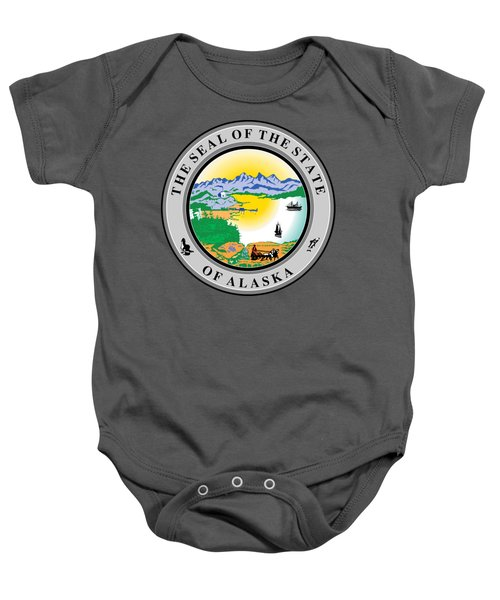 Alaska State Seal Baby Onesie