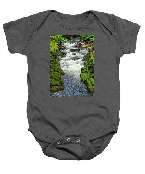 Alaskan Creek Baby Onesie