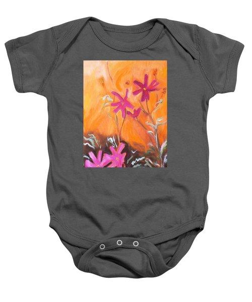 Alba Daisies Baby Onesie