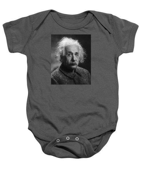 Albert Einstein, 1947. Age 68. Baby Onesie