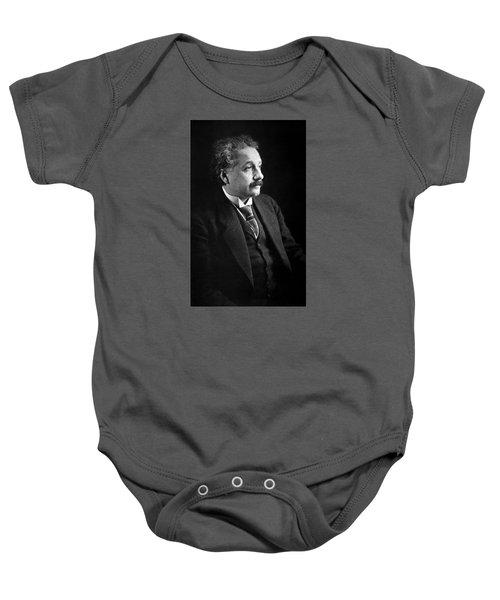 Albert Einstein Photo 1921 Baby Onesie