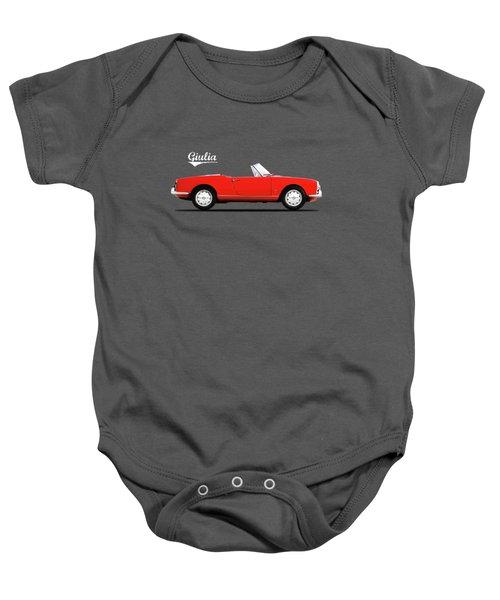 Alfa Giulia Spider 1964 Baby Onesie