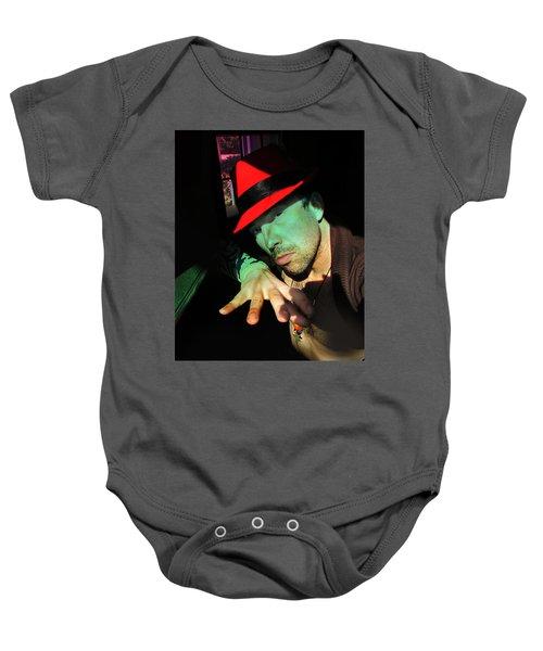 Alien Hat Baby Onesie