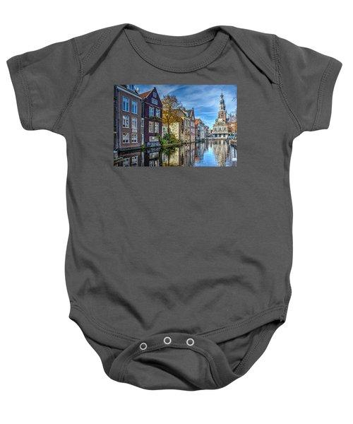 Alkmaar From The Bridge Baby Onesie
