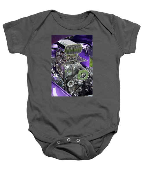 All Chromed Engine With Blower Baby Onesie