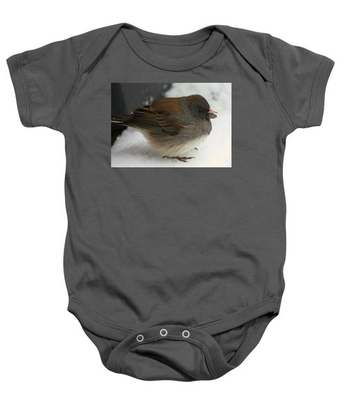 All Puffed Up Baby Onesie