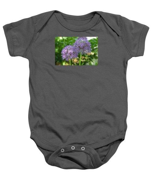 Allium Baby Onesie