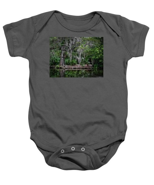 Along The Bank Baby Onesie