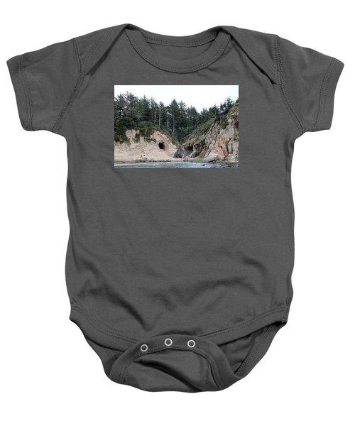 Along The Oregon Coast - 2 Baby Onesie