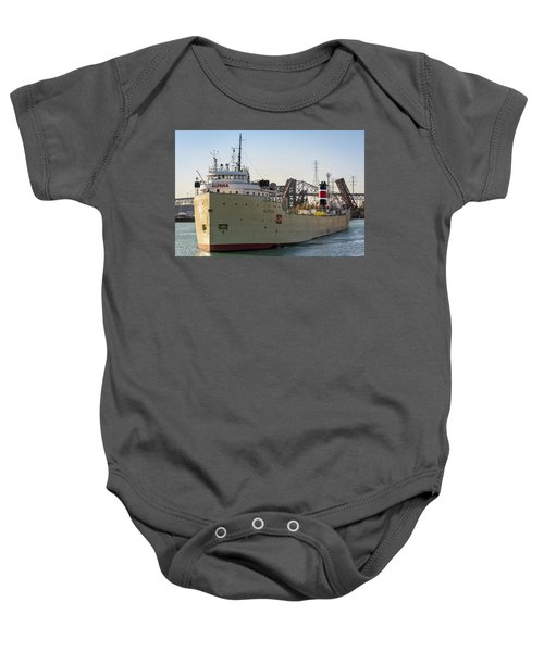 Alpena Heading Out To Lake Michigan Baby Onesie