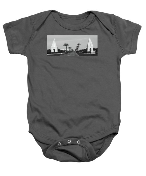 Alys Beach Entrance Baby Onesie