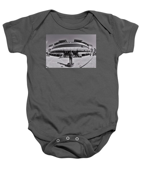 Amalie Arena Black And White Baby Onesie