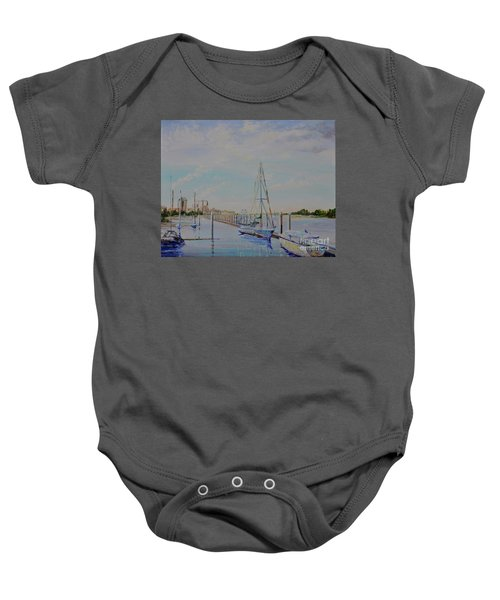 Amelia Island Port Baby Onesie