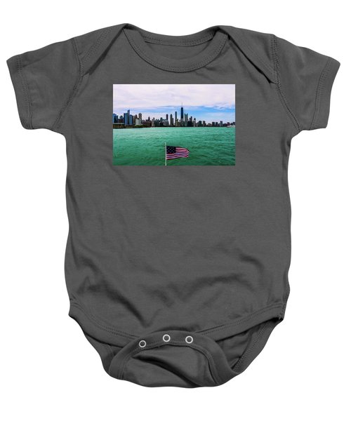 American Chi 2 Baby Onesie