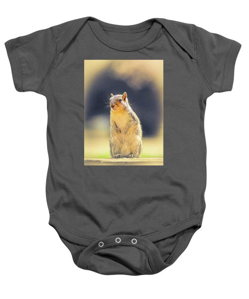 American Red Squirrel Baby Onesie