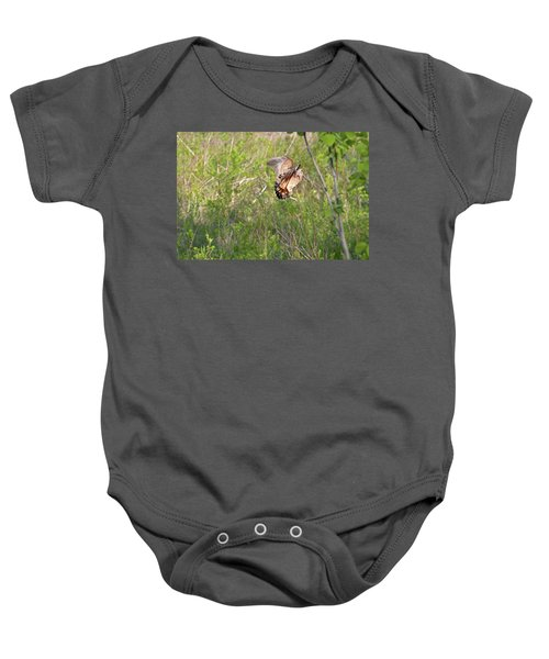 American Woodcock Behavior Baby Onesie