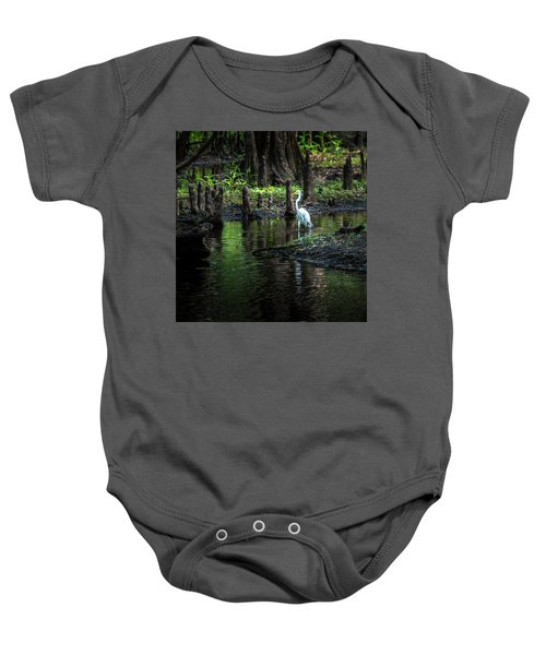 Amidst The Knees Baby Onesie