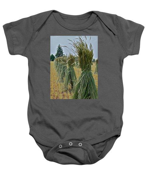 Amish Harvest Baby Onesie