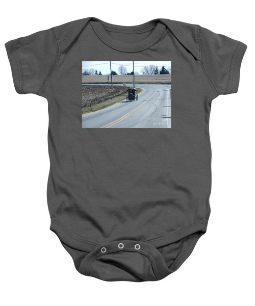 An Afternoon Buggy Ride Baby Onesie