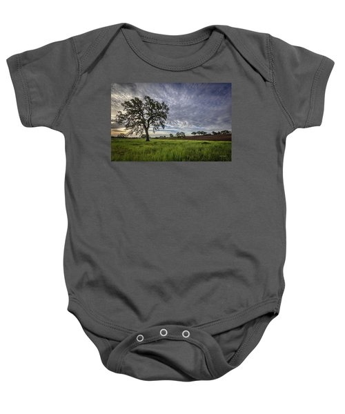 An April Sunday Morning Baby Onesie