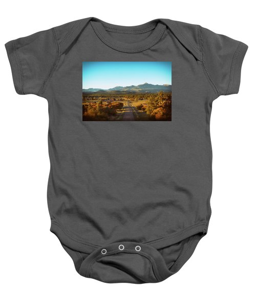 An Autumn Evening In Pagosa Meadows Baby Onesie