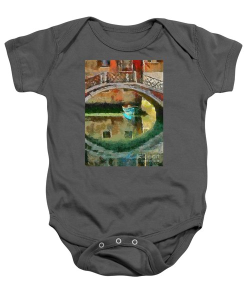 An Early Morning In Venice Baby Onesie