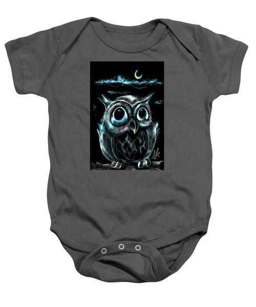 An Owl Friend Baby Onesie