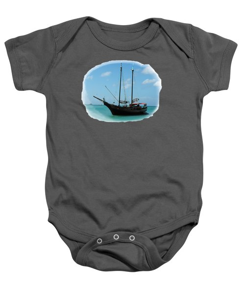 Anchored Baby Onesie by David and Lynn Keller