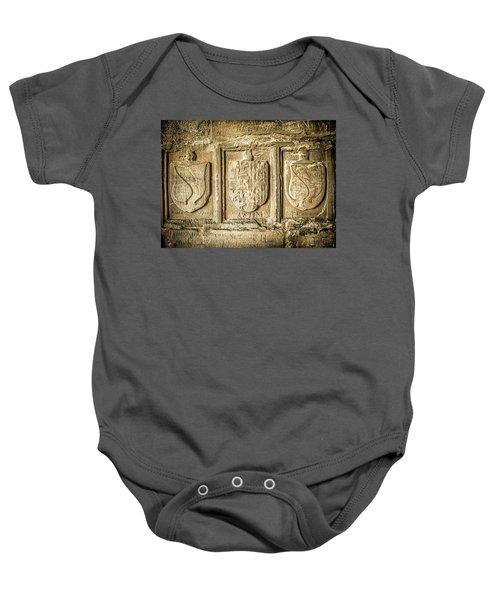 Ancient Carvings Baby Onesie