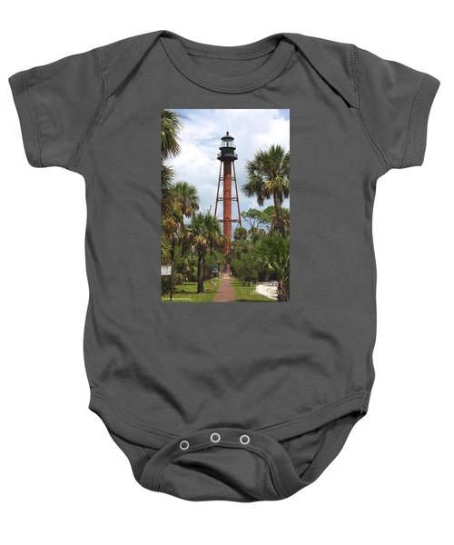 Anclote Key Lighthouse Baby Onesie