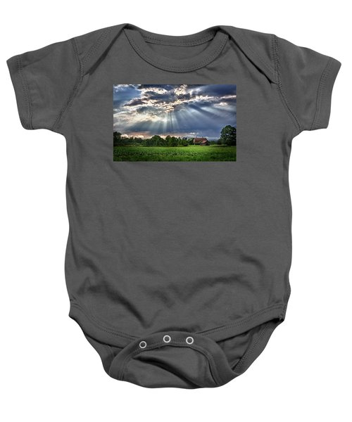 And The Heavens Opened 1 Baby Onesie