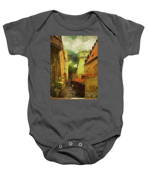 And Then It Rained Baby Onesie