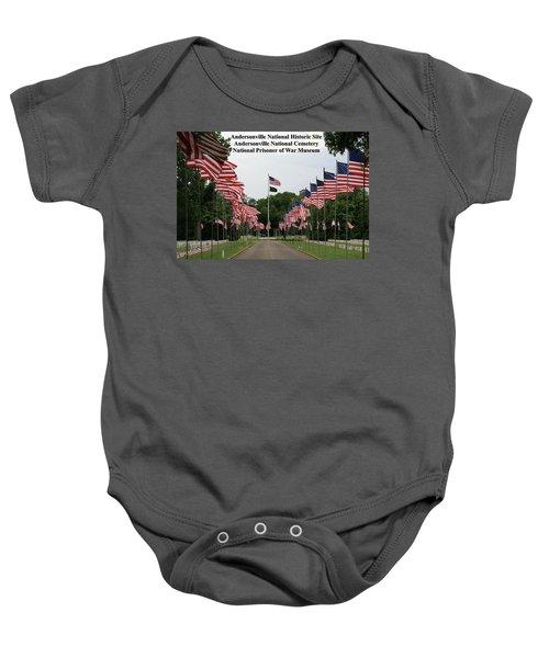 Andersonville National Park Baby Onesie