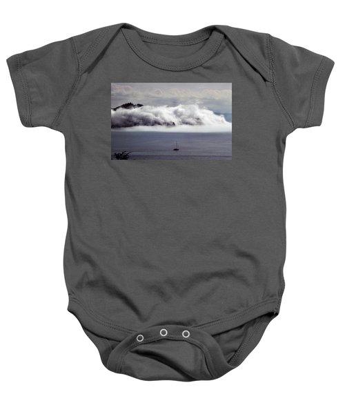 Angel Island Fog Baby Onesie