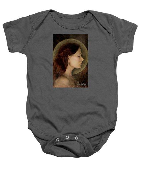 Angelic Portrait Baby Onesie