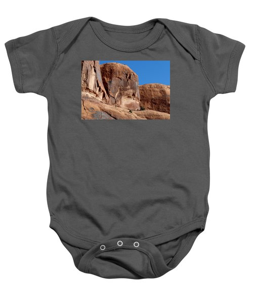 Angry Rock - 2  Baby Onesie