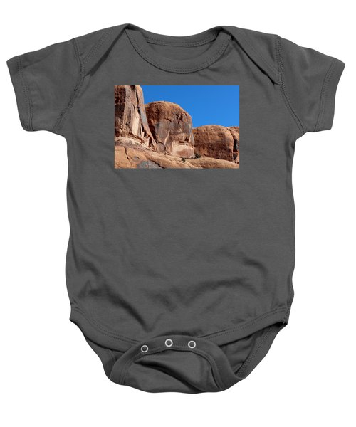 Angry Rock  Baby Onesie