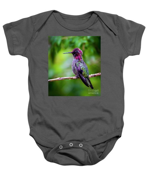 Anna Humming Bird Baby Onesie