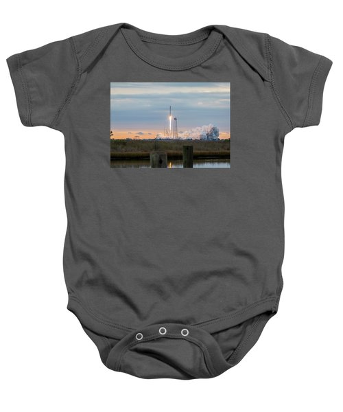 Antares Launch From Wallops Island Baby Onesie