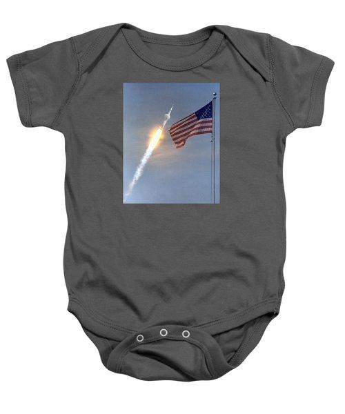 Apollo 11 Launch Baby Onesie